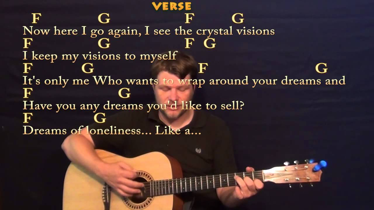 dreams fleetwood mac strum guitar cover lesson with lyrics chords youtube. Black Bedroom Furniture Sets. Home Design Ideas