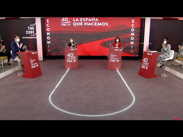 Presentación del capítulo de Economía y Empleo de la Ponencia del 40º Congreso del PSOE