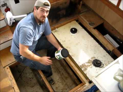 Fixing My Black Water Tank Update Youtube