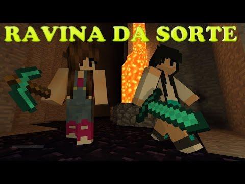 Minecraft Survival - RAVINA DA SORTE #10