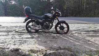 Первая тысяча 1000 километров на китайском мотоцикле Spark SP200R 25 Спарк сп200р 25