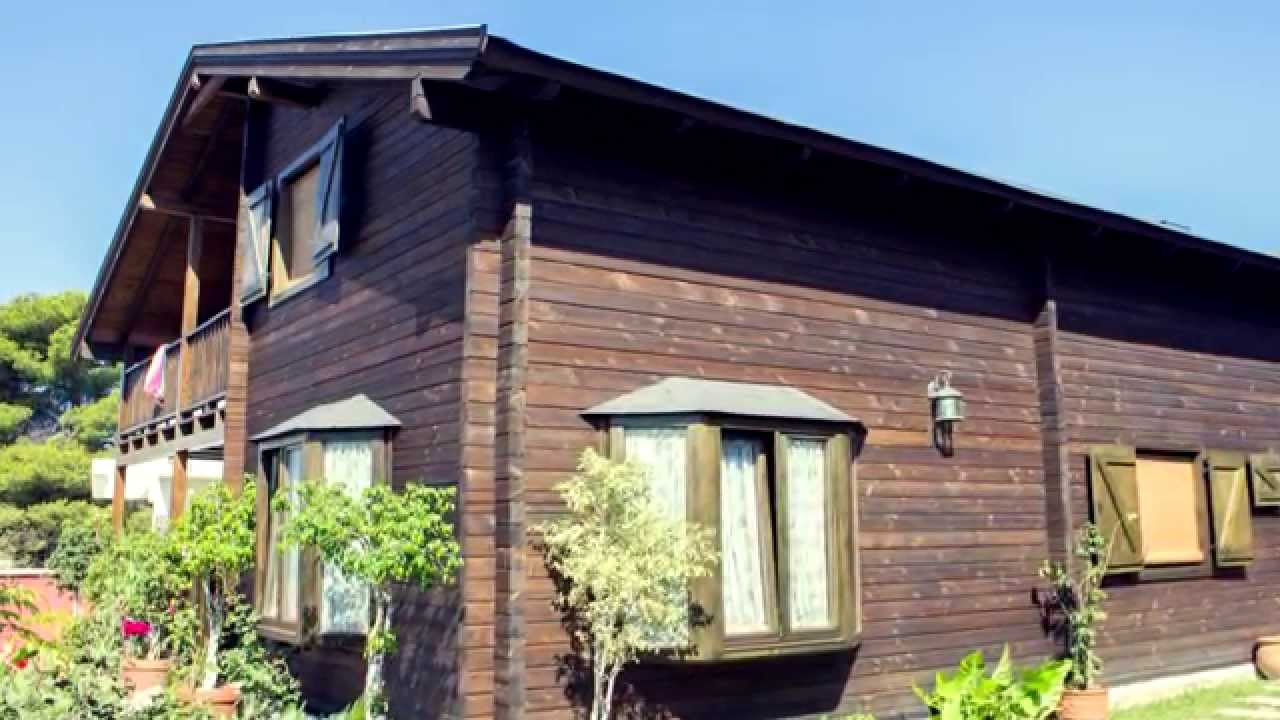 Casas prefabricadas de madera novaterrahomes espa a youtube for Tejados de madera prefabricados