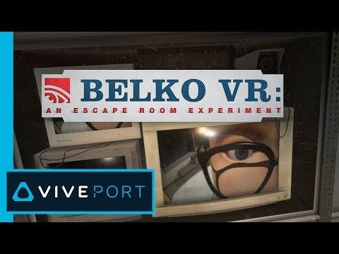 Belko VR: An Escape Room Experiment   Top Right Corner