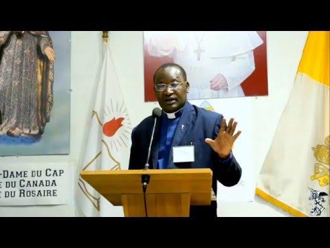 Abbé Faustin Nyombayire du Rwanda - Impression sur la session du Crédit Social