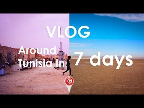 Around Tunisia In 7 days : دورة على تونس في 7 أيام (Vlog)