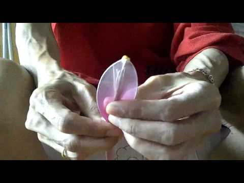 วิธีทำดอกลิลลี่ผ้าใยบัว