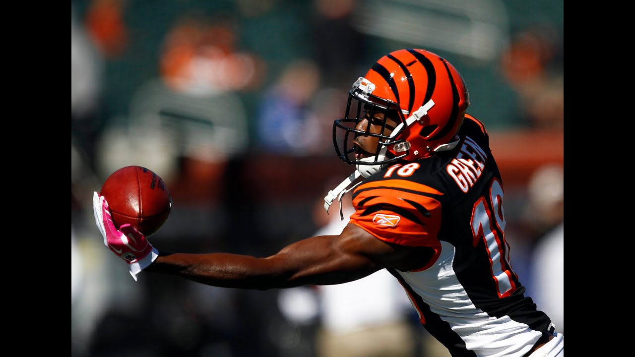 A J Green King of e Handed Catch [Feature]