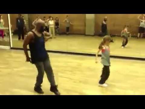 10 Jähriges Mädchen Tanz besser als jeder andere Respekt