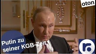 Putin zur KGB-Zeit auf deutsch