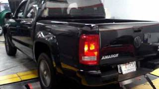 VW AMAROK 2010 TDI 4MOTION / NASCARCHIPS no dinamômetro