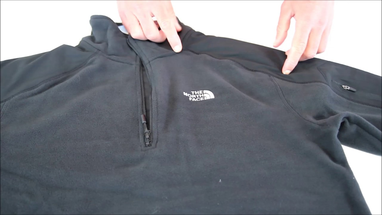 7b80302e62 RayonRando.com : Gros plan sur la polaire Glacier Delta 1/4 Zip de The  North Face