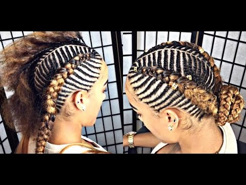 #152. TIGER/FISHBONE BRAIDS