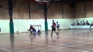 What A Goal! (Ball Hockey Goal - Brenden Ham) Ball Hockey Goal Skills Tricks Drills Dekes