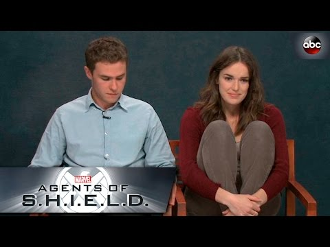 Elizabeth Henstridge and Iain De Caestecker Screen Test  Marvel's Agents of S.H.I.E.L.D.