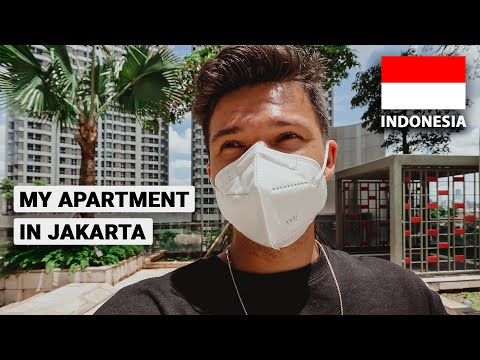 Apartment tour in Jakarta Indonesia (how much it cost)