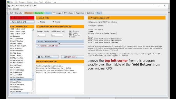 Uploads from DMR Codeplug Generator - YouTube