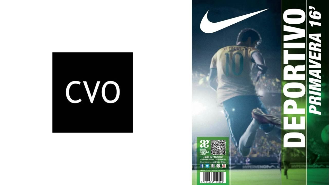 809a40a7bac1a Catálogo Andrea  Deportivo Nike Primavera 2016 - YouTube