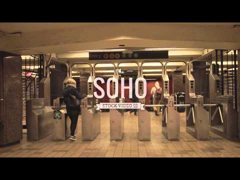 Soho Stock Video - Metro