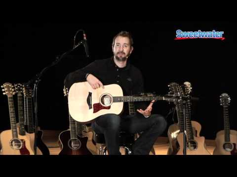Taylor Guitars Big Ba Taylor Acoustic Guitar Demo  Sweetwater Sound