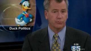 """Glenn Beck gets """"Donald Ducked"""" - CBS Channel 5 Evening News"""