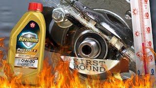 Texaco Havoline Pro DS P 0W30 Jak skutecznie olej chroni silnik? 100°C