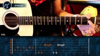 """Cómo tocar """"Love Me Two Times"""" de The Doors en guitarra Acústica (HD) Tutorial - Christianvib"""
