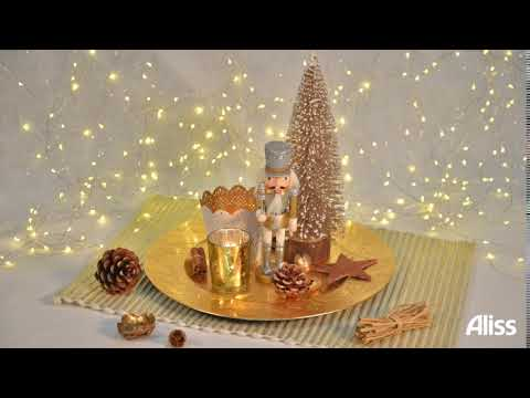 DIY: Ideas for the centerpiece at Christmas