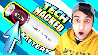 INSANE Tech Hacked Battery! - Lightors Rechargeable Batteries With Micro-USB Charging
