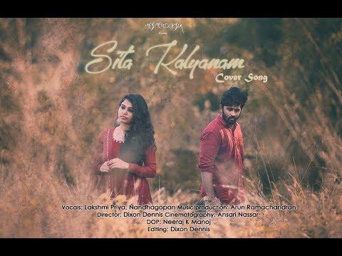 Sita Kalyana Cover.4K | Solo Movie | Nandhagopan & Lakshmi Priya | Mesmerocksia