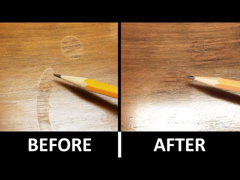 Lacquer Finish Repair On Wood Furniture
