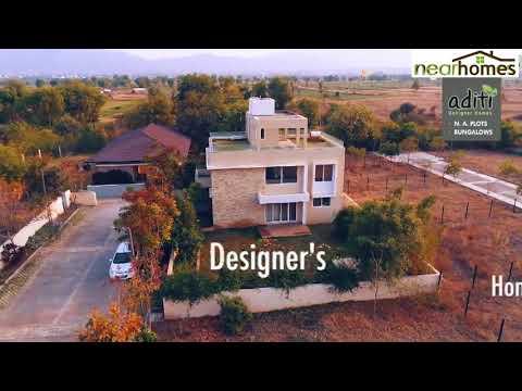 Nearhomes | Aditi Designers Homes | NA Plots in Pune
