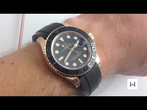 Rolex Oyster Perpetual Yacht-Master 116655 Luxury Watch Review