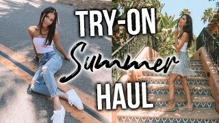 HUGE SUMMER TRY-ON HAUL// Princess Polly, Free People & More!