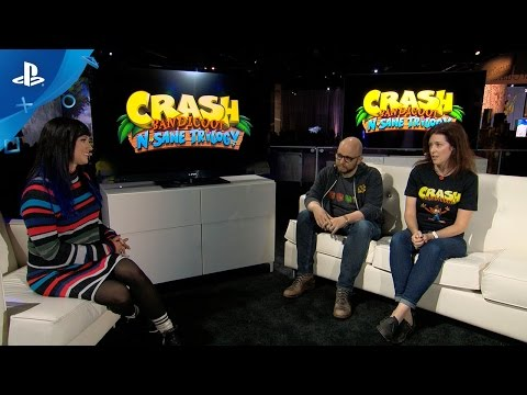 Crash Bandicoot: N. Sane Trilogy - PlayStation Experience 2016: Livecast Coverage | PS4