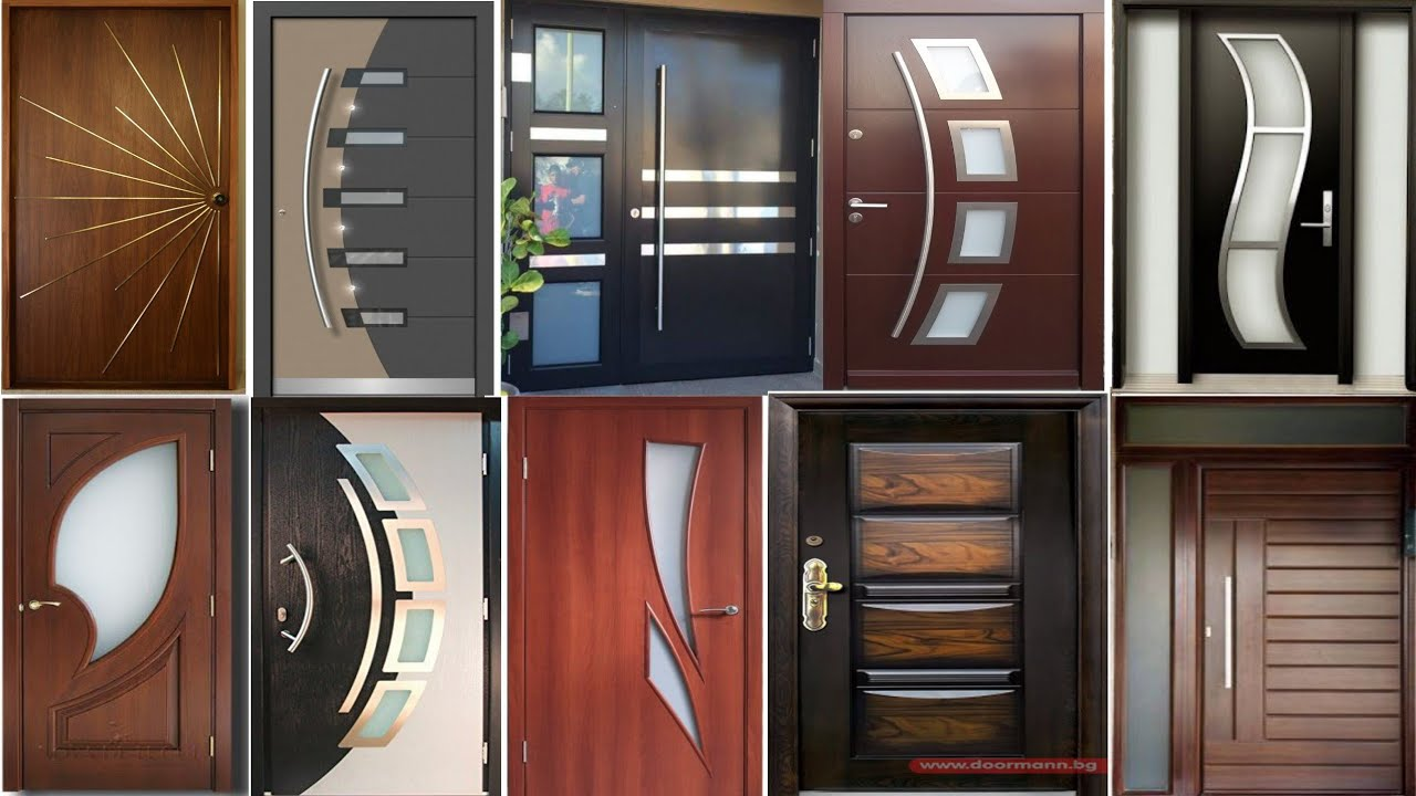 100 Modern Wooden Doors Front Door Design Ideas 2021 Hashtag Decor Youtube