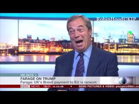 Nigel Farage on Theresa May She is a nothing