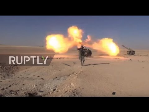Syria: Government forces advance to Al-Sha'er gas fields east of Homs