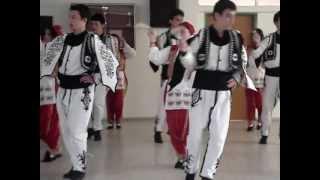 turkish folk dance by suat terimer students at armenio high