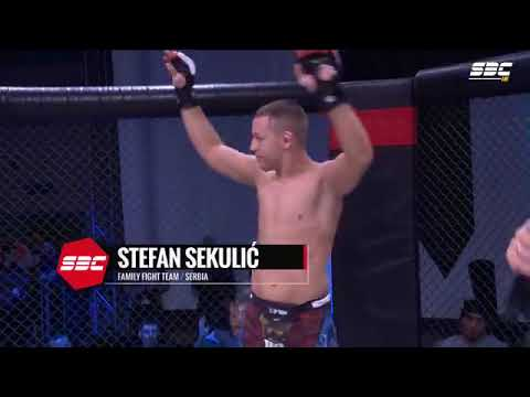 "SBC 16 - Stefan Sekulic vs Givago ""Giba"" Francisco - Middleweight Title Fight"