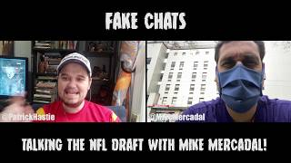 Comedians Talking NFL Draft | Fake Chats | Mike Mercadal