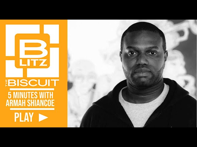 Biscuit Blitz: 7 Minutes with Armah Shiancoe