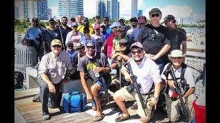Zapętlaj FloridaCarry.org Open Carry South Pointe Pier in Miami Beach, FL | SoloYaker