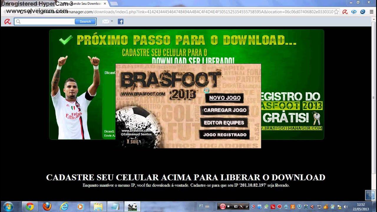 BRASFOOT 2012 PATCHES BAIXAR GRATIS OS TODOS