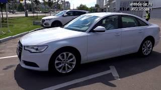 Тест-драйв автомобиля Audi A6
