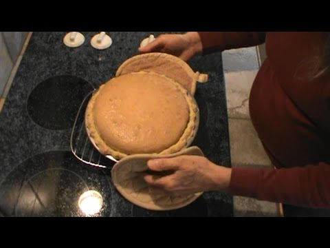 Southern Coconut Chess  Pie