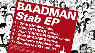 Baadman - Stab (Cardopusher remix)