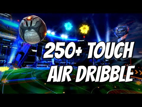 250+ TOUCH AIR DRIBBLE | Rocket League WORLD RECORD
