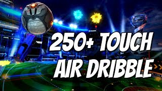 One of Mittens's most viewed videos: 250+ TOUCH AIR DRIBBLE | Rocket League WORLD RECORD