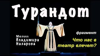 """Vladimir Nazarov """"Что нас в Театр влечет"""" трек из мюзикла """"Загадка Турандот"""""""
