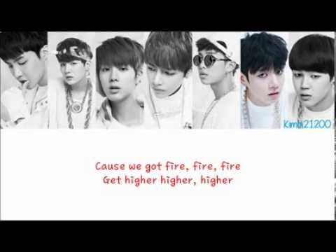 BTS 방탄소년단  Rise of Bangtan 진격의 방탄 HangulRomanizationEnglish Color & Picture Coded HD
